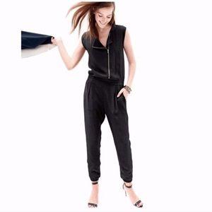 J. Crew Asymmetrical Zip Jumpsuit